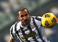 Football: Super Cup Final Juventus vs Napoli at Mapei Stadium in Reggio Emilia, on January 20,  2021.<br /> Juventus' captain Giorgio Chiellini in action during the Italian Super Cup Final match between Juventus and Napoli at Mapei Stadium in Reggio Emilia, on January 20,  2021.<br /> UPDATE IMAGES PRESS/Isabella Bonotto