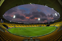 during the third international men's T20 cricket match between the New Zealand Black Capss and Australia at Sky Stadium in Wellington, New Zealand on Wednesday, 3 March 2021. Photo: Dave Lintott / lintottphoto.co.nz