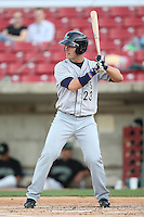 April 11 2010: Steven Liddle of the Beloit Snappers at Elfstrom Stadium in Geneva, IL. The Snappers are the Low A affiliate of the Minnesota Twins. Photo by: Chris Proctor/Four Seam Images