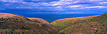 Caribbean Panorama - Hillside View, pre volcano eruption in 1995. Monserrat, Caribbean.<br /> <br /> Image taken on large format panoramic 6cm x 17cm transparency. Available for licencing and printing. email us at contact@widescenes.com for pricing. <br /> <br /> WARNING: Image Protected with PIXSY