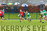 David Clifford Fossa goes past Podge O'Sullivan Legion during the East Kerry QF in Direen on Sunday