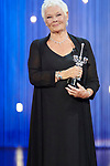 Judi Dench receives the Donosti Award during the 66th San Sebastian Donostia International Film Festival - Zinemaldia.September 28,2012.(ALTERPHOTOS/Paniagua)