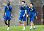 St Johnstone Training….14.08.20<br />Tanto Olaofe, Scott Tanser and Danny McNamara pictured during training this morning at McDiarmid Park ahead of tomorrows game at Kilmarnock.<br />Picture by Graeme Hart.<br />Copyright Perthshire Picture Agency<br />Tel: 01738 623350  Mobile: 07990 594431