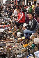 China, Peking (Beijing), auf dem Panjiayuan -Markt, Panjiayuan Lu/Dongsanhuan Nanlu