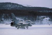 """- Norwegian Air Force, fighter aircraft F 16 """"Fighting Falcon"""" ....- aviazione norvegese, aereo da caccia F 16 """"Fighting Falcon"""""""
