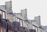 Amsterdam: Scheepvaarthuis. Detail of building. Photo '87.