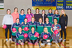 The Killarney Legion Mothers and Others who are back training in the Killarney Sports and leisure Complex on Wednesday evening front row l-r: Natasha O'Sullivan, Carla O'Neill, Dympna Healy, Middle row: Sharon O'Grady, Patricia Quigley, Aoife Twomey, Mary Coffey, Louise Moynihan, Sarah Lambswood, Back row: Amy Grady, Nicola O'Mahony, Trish Munday, Norma Foley, Emer Coffey, Fiona Ashe, Noreen Tobin, Ann Dubhain, Mairead O'Donghue