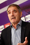 Real Valladolid's coach Paco Herrera in press conference after La Liga Second Division match. March 11,2017. (ALTERPHOTOS/Acero)
