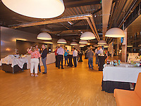 14-sept.-2013,Netherlands, Groningen,  Martini Plaza, Tennis, DavisCup Netherlands-Austria, Doubles, Vip Lounge   <br /> Photo: Henk Koster
