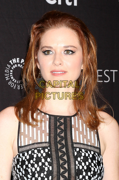 LOS ANGELES, CA - MARCH 19: Sarah Drew at the 34th Annual PaleyFest presentation of Grey's Anatomy at the Dolby Theater in Los Angeles, California on March 19, 2017. <br /> CAP/MPI/DE<br /> ©DE/MPI/Capital Pictures