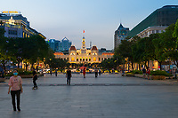 Ho Chi Minh City Hall And Square