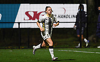defender Chrystal Lermusiaux of Sporting Charleroi pictured during a female soccer game between Sporting Charleroi and RSC Anderlecht on the third matchday of the 2020 - 2021 season of Belgian Scooore Womens Super League , friday 2 nd of October 2020  in Marcinelle , Belgium . PHOTO SPORTPIX.BE | SPP | DAVID CATRY