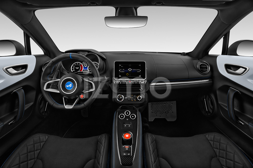 Straight dashboard view of 2019 Alpine A110 Pure 2 Door Coupe Dashboard