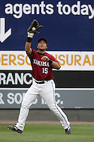 July 7 2009: Astolfo Inciarte of the Yakima Bears during game against the Everett AquaSox at Everett Memorial Stadium in Everett,WA.  Photo by Larry Goren/Four Seam Images