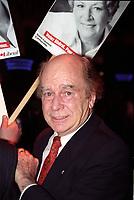 FILE - Le senateur Jacques Hebert, dans les annees 90<br /> <br /> (date inconnue)<br /> <br /> PHOTO  :  Agence Quebec Presse