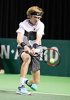 Rotterdam, Netherlands, 9 februari, 2019, Ahoy, Tennis, ABNAMROWTT, ANDREY RUBLEV (RUS)<br /> Photo: Henk Koster/tennisimages.com