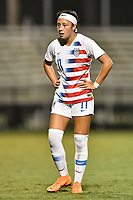 Lakewood Ranch, FL - Wednesday, October 10, 2018:   Maya Doms during a U-17 USWNT match against Colombia.  The U-17 USWNT defeated Colombia 4-1.