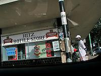 A bottle store in Bulawayo.
