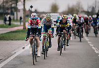Bob JUNGELS (LUX/Deceuninck-Quick Step) setting the pace in the race finale<br /> <br /> 71th Kuurne-Brussel-Kuurne 2019 <br /> Kuurne to Kuurne (BEL): 201km<br /> <br /> ©kramon