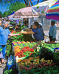 Farmer's Market in downtown Missoula, Montana
