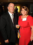 Kyle and Dee Ann Jones at a invitation-only reception and book-signing for Phil Collins at Torch Energy Advisors Wednesday May 9,2012. (Dave Rossman Photo)