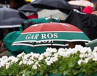 30-05-13, Tennis, France, Paris, Roland Garros,Rain