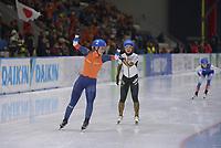 SPEEDSKATING: 24-11-2019 Tomaszów Mazowiecki (POL), ISU World Cup Arena Lodowa, Mass Start Ladies, winner Irene Schouten (NED), ©photo Martin de Jong