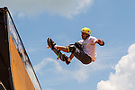 COTA gets ready for the summer X-Games at the Circuit of the Americas race track in Austin, Texas.