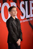 """LOS ANGELES, USA. October 30, 2019: Jacob Tremblay at the US premiere of """"Doctor Sleep"""" at the Regency Village Theatre.<br /> Picture: Paul Smith/Featureflash"""