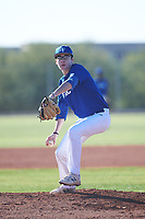 Jacobi Padilla (49), from Clayton, California, while playing for the Dodgers during the Under Armour Baseball Factory Recruiting Classic at Red Mountain Baseball Complex on December 28, 2017 in Mesa, Arizona. (Zachary Lucy/Four Seam Images)