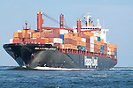 Container Ship Philadelphia Express charleston south carolina