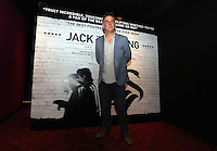 """Pictured: Director Marc Evans.  Friday 12 September 2014<br /> Re: Premiere of """"Jack To A King"""" a film about the history of Swansea City Football Club, at The Empire Cinema in Leicester Square, London, UK."""