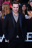 """WESTWOOD, LOS ANGELES, CA, USA - MARCH 18: Grey Damon at the World Premiere Of Summit Entertainment's """"Divergent"""" held at the Regency Bruin Theatre on March 18, 2014 in Westwood, Los Angeles, California, United States. (Photo by David Acosta/Celebrity Monitor)"""