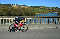 Richard Young (Port Nicholson Poneke Cycling). Time trials on Day One of the 2018 NZ Age Group Road Cycling Championships in Carterton, New Zealand on 20 April 2018. Photo: Dave Lintott / lintottphoto.co.nz