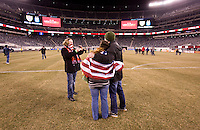 US Supporter's Club, field. The USMNT tied Argentina, 1-1, at the New Meadowlands Stadium in East Rutherford, NJ.