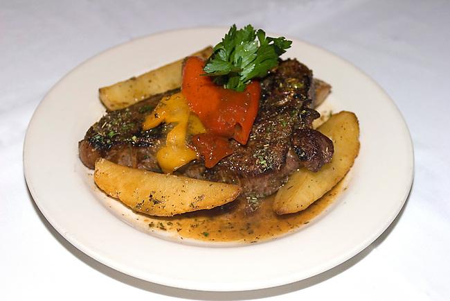 Steak Dinner, Harry Caray's Restaurant, Chicago, Illinois