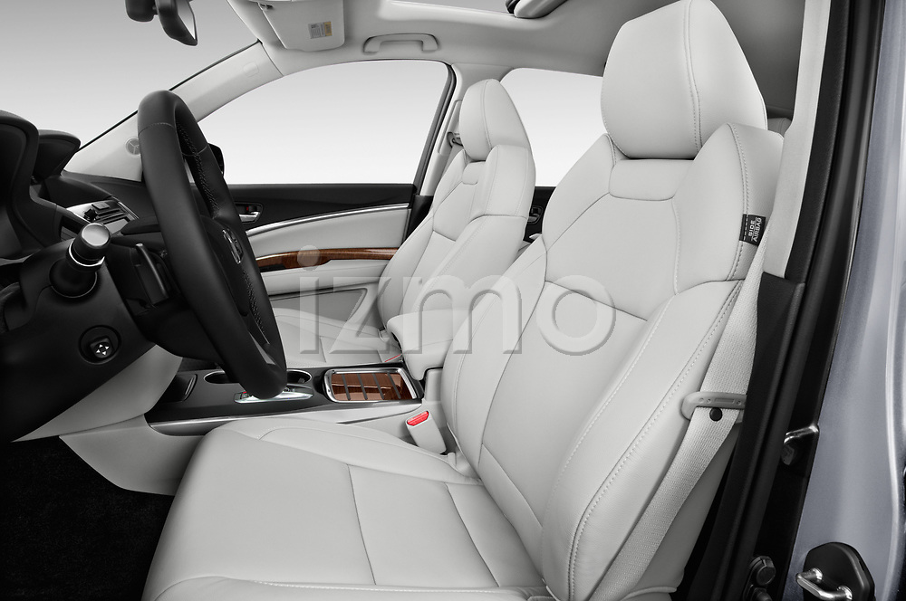 Front seat view of 2020 Acura mdx Base 5 Door SUV front seat