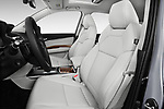 Front seat view of 2020 Acura mdx Base 5 Door SUV front seat car photos