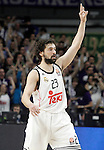 Real Madrid's Sergio Llull during Euroleague match.February 5,2015. (ALTERPHOTOS/Acero)