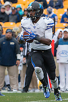 Duke wide receiver Jamison Crowder (3). The Duke Blue Devils defeated the Pitt Panthers 51-48 at Heinz Field, Pittsburgh Pennsylvania on November 1, 2014.