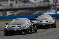5-8 January, 2017, Daytona Beach, Florida USA<br /> 77, McLaren, McLaren GT4, GS, Nico Rondet, Jeff Westphal, Bob Doyle<br /> ©2017, Jake Galstad<br /> LAT Photo USA