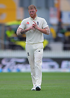 England's Ben Stokes prepares to bowl during day five of the international cricket 2nd test match between NZ Black Caps and England at Seddon Park in Hamilton, New Zealand on Tuesday, 3 December 2019. Photo: Dave Lintott / lintottphoto.co.nz