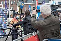 Unless Mark Cavendish (GBR)(GBR/Bahrain-McLaren) finds a team fo rnext season, this108th Scheldeprijs might just have been his very last pro race...<br /> <br /> 1 day race from Schoten to Schoten BEL (173km)<br /> <br /> ©kramon