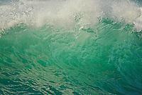 Ocean wave breaking Cape Kiwanda, Oregon