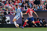 Atletico de Madrid's Andres Felipe Solano and CD Leganes's Youssef En-Nesyri during La Liga match between Atletico de Madrid and CD Leganes at Wanda Metropolitano stadium in Madrid, Spain. March 09, 2019. (ALTERPHOTOS/A. Perez Meca)