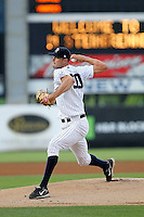 May 12, 2010: Pitcher Andrew Brackman of the Tampa Yankees delivers a pitch during a game at George M Steinbrenner Field in Tampa, FL. Tampa is the Florida State League High Class-A affiliate of the New York Yankees. Photo By Mark LoMoglio/