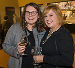 """Wednesday and Lori Entner during the Reno Magazine """"Bubbles Tasting"""" event at Total Wine in Reno on Friday night, February 9, 2018."""