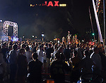 """EA Sports, creator of the popular """"Madden NFL"""" game, celebrates the release of the 2011 game edition with Madden Gras 2011, starring the New Orleans Saints.  Madden Gras 2011 culminates with a Mardi-Gras-style parade through the French Quarter of New Orleans to Jackson Square, where Cowboy Mouth and Galactic perform."""