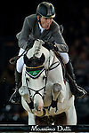 Ludger Beerbaum of Germany rides Colestus in action at the Longines Grand Prix during the Longines Hong Kong Masters 2015 at the AsiaWorld Expo on 15 February 2015 in Hong Kong, China. Photo by Juan Flor / Power Sport Images