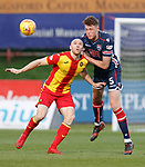 04.05.2018 Partick Thistle v Ross County: Connor Sammon and Harry Souttar